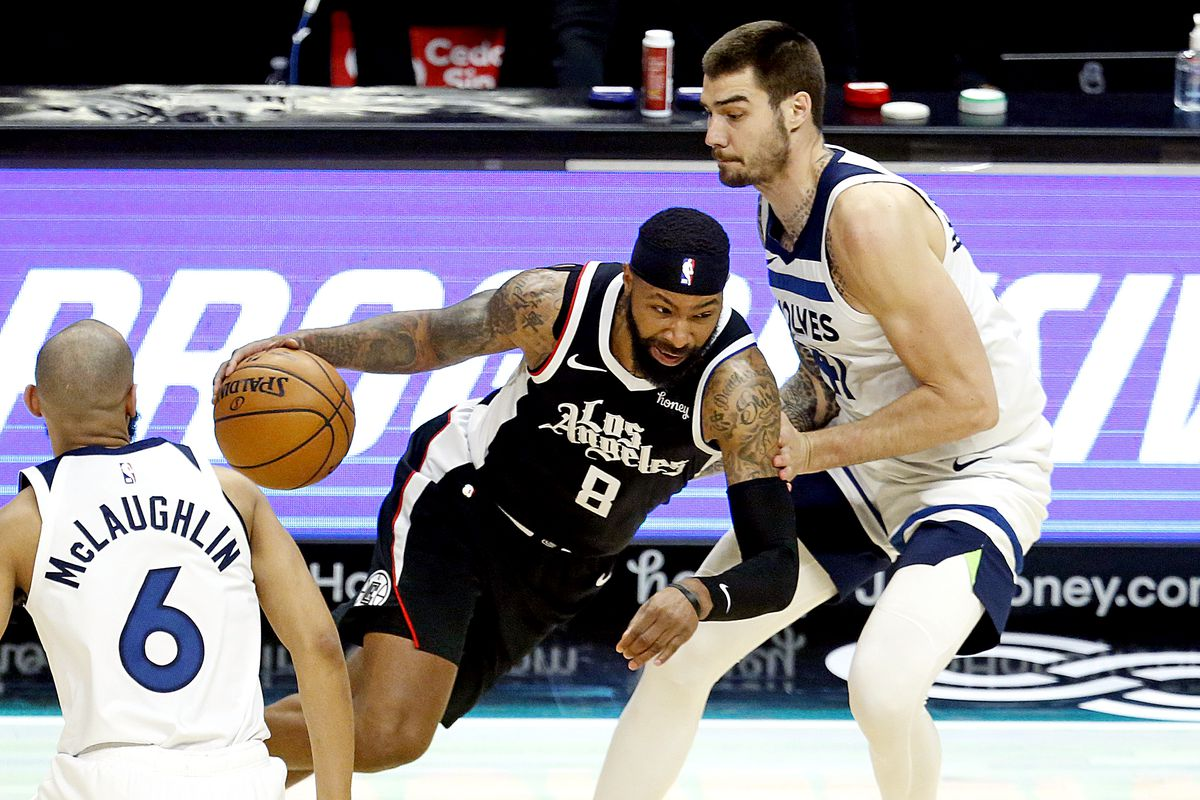 Minnesota Timberwolves at Los Angeles Clippers, fans allowed back in stadium COVID-19 pandemic