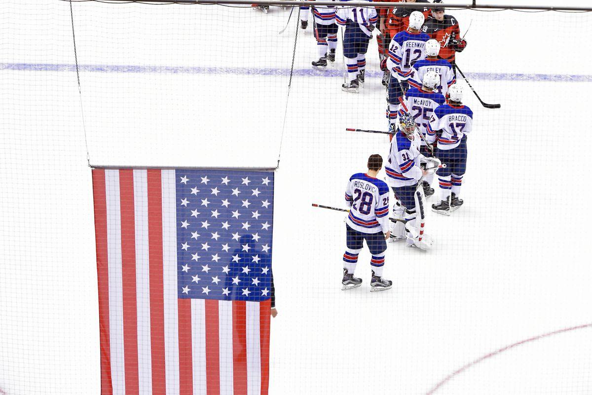 HOCKEY: DEC 31 IIHF World Junior Championship - USA v Canada