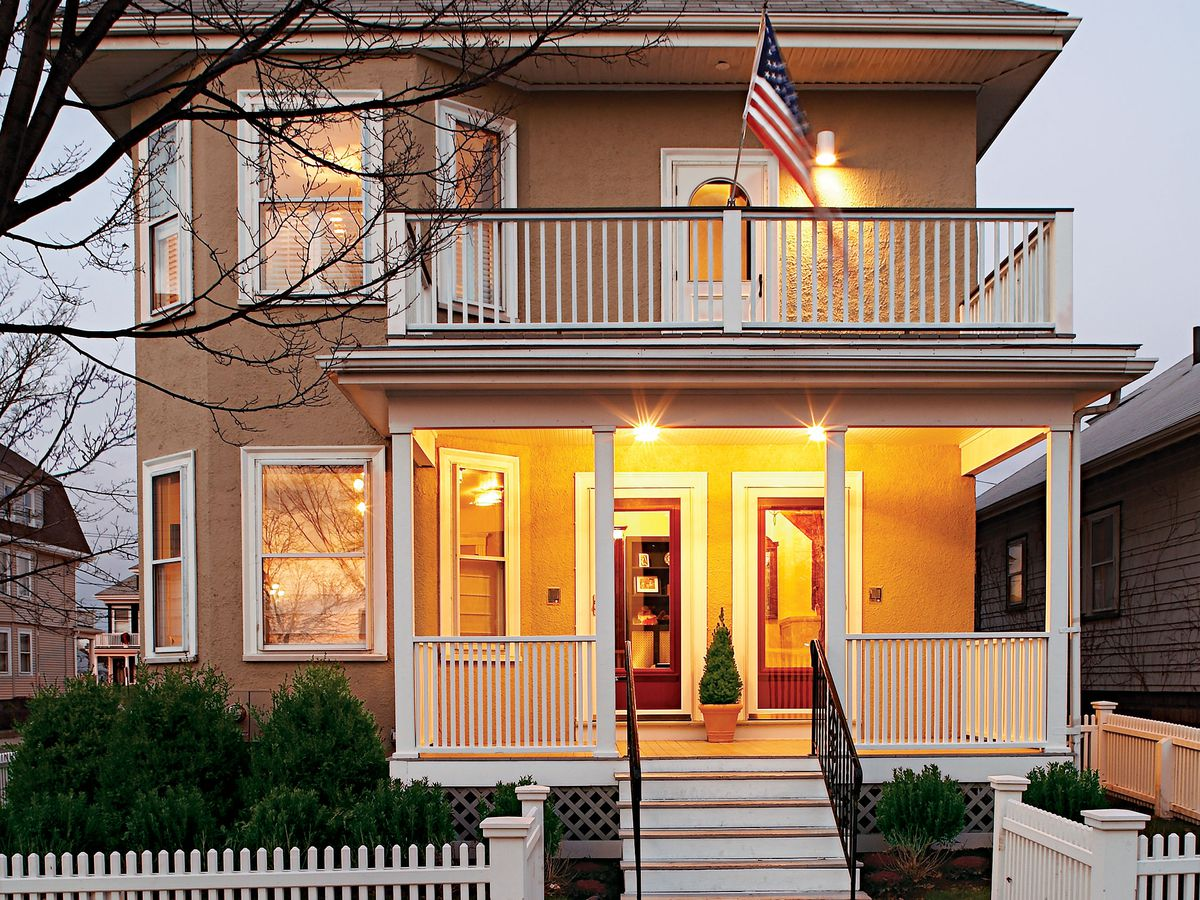 East Boston project house exterior.