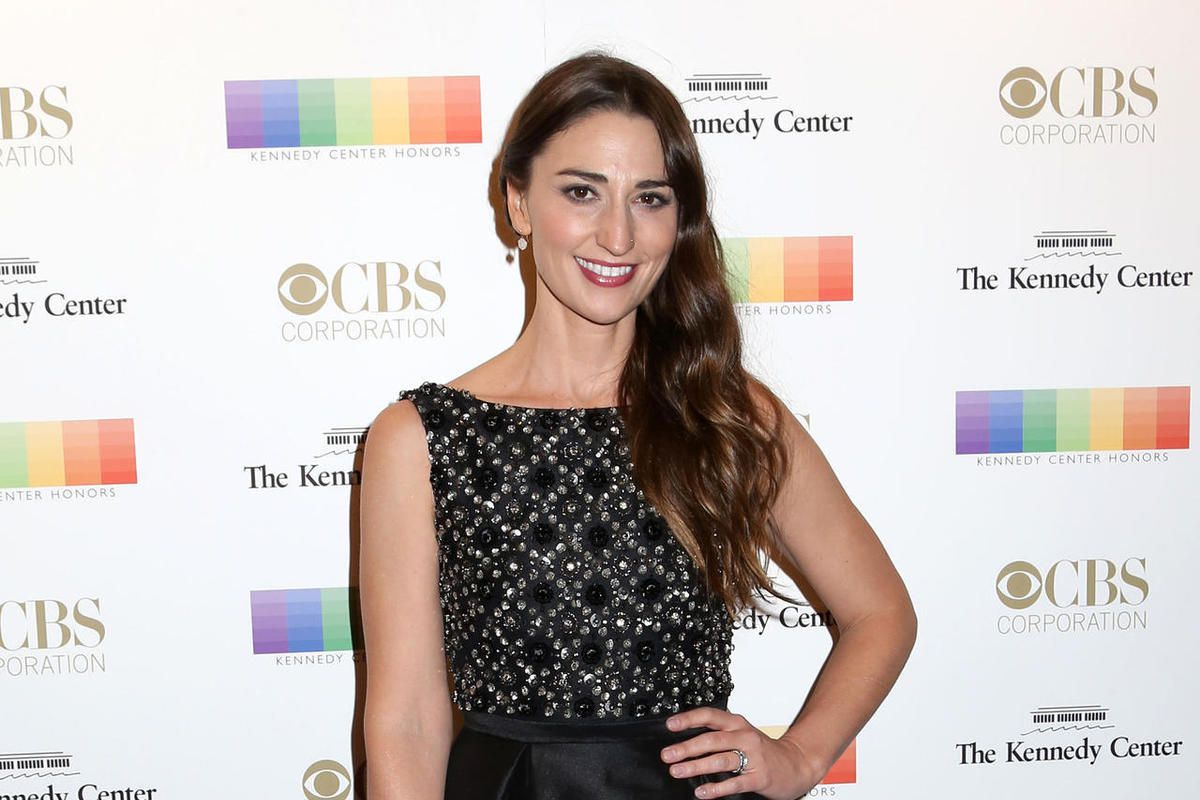 FILE - In this Dec. 6, 2015 file photo, Sara Bareilles attends the 38th Annual Kennedy Center Honors in Washington.