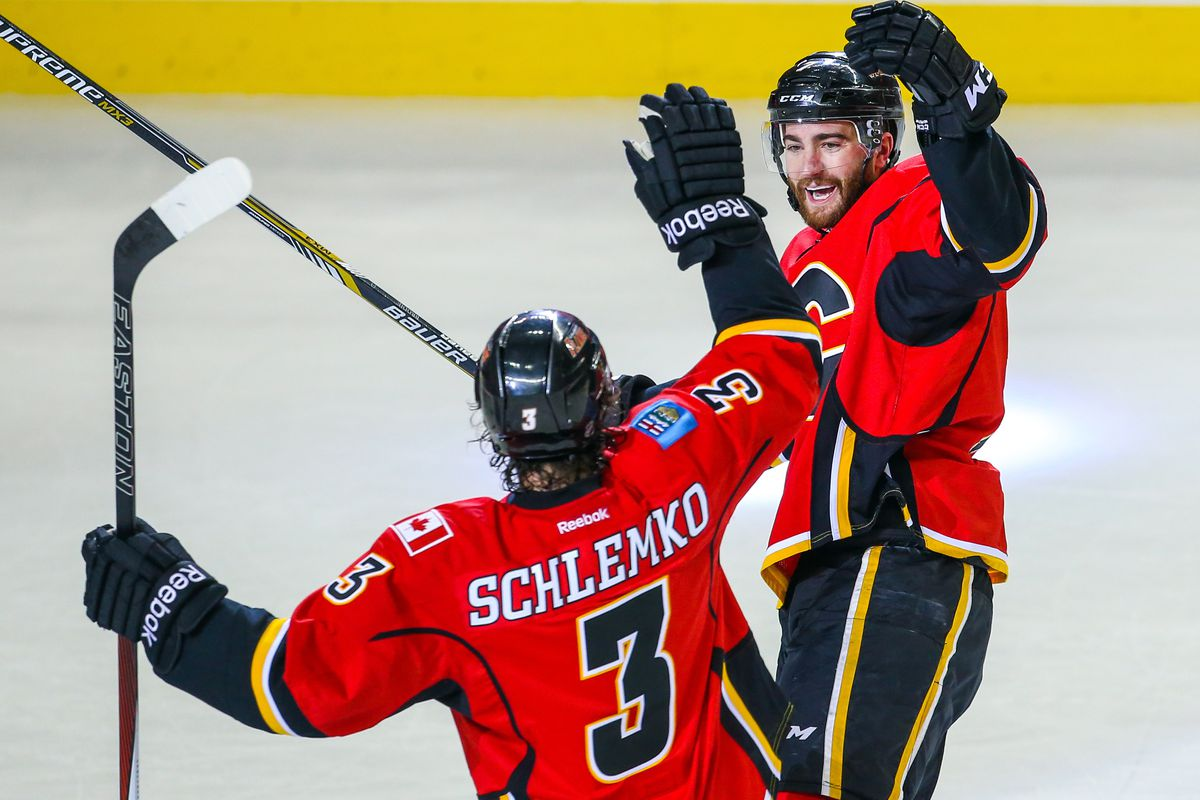 e721feb0c 2014-15 Flames report cards  David Schlemko - Matchsticks and Gasoline