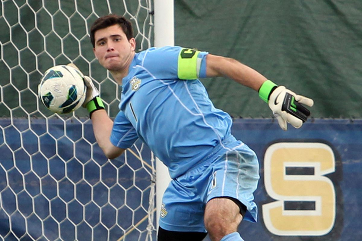 Charlie Lyon, Top Drawer Soccer's second best goalkeeper in the country.