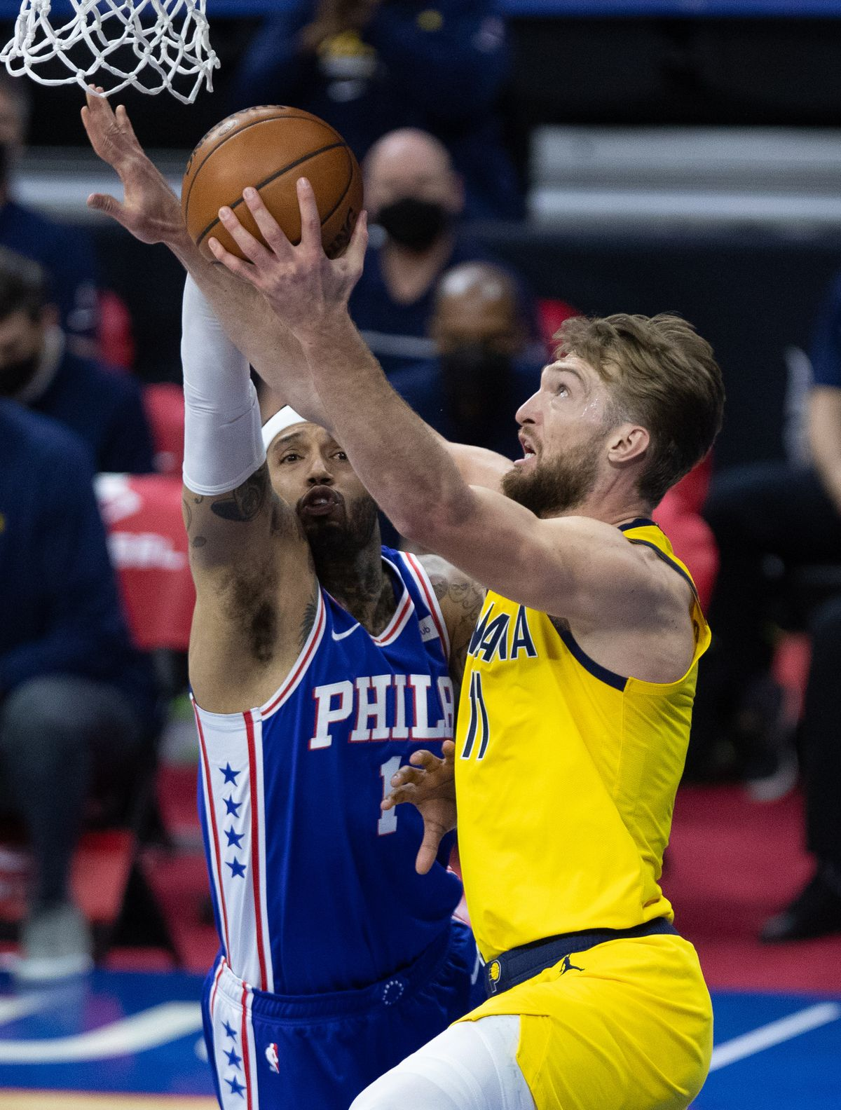 NBA: Indiana Pacers in Philadelphia 76ers
