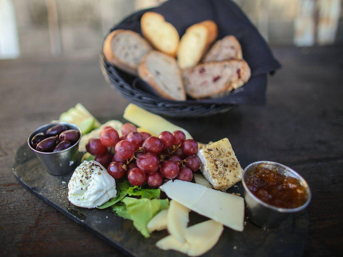 Blue Dahlia's cheese plate