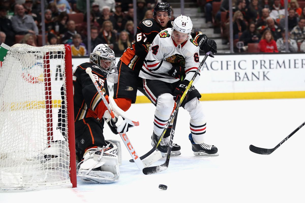 Chicago Blackhawks v Anaheim Ducks