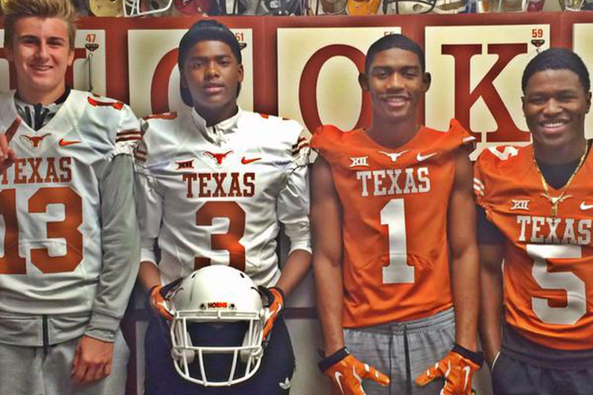 Keyshawn Johnson (second from left) and friends in Austin