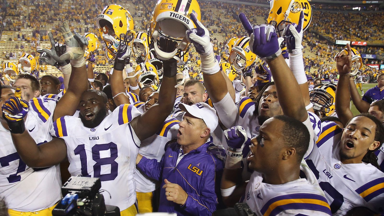Postgame Press Conference and Interviews - LSU v USC - And ...