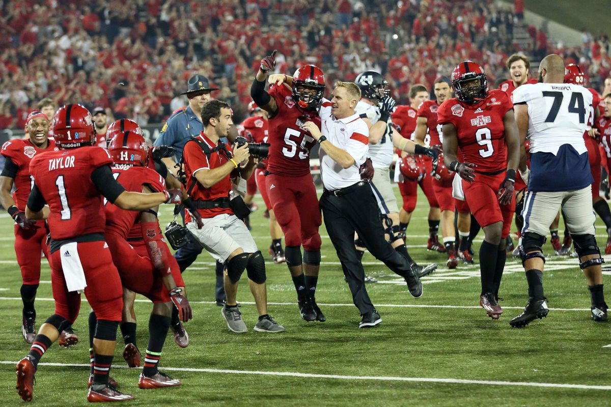 Blake Anderson and the Red Wolves had much to celebrate tonight.