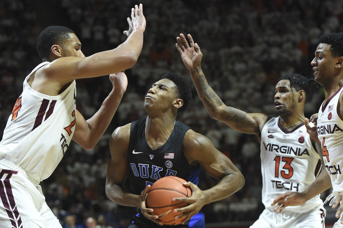Duke Loses On The Road To Virginia Tech Without Zion Williamson 77 72 Duke Basketball Report