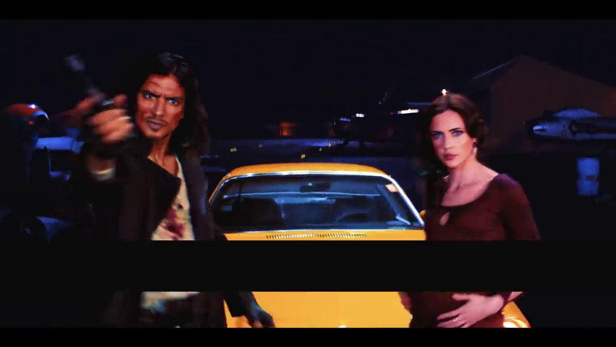 Asimov and Katerina Solensan in Cowboy Bebop (2021)
