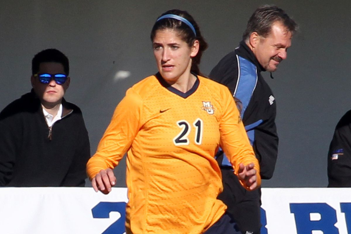 Hayley Fritzlen could be one of the key components of Marquette's quest for a sixth straight regular season title.