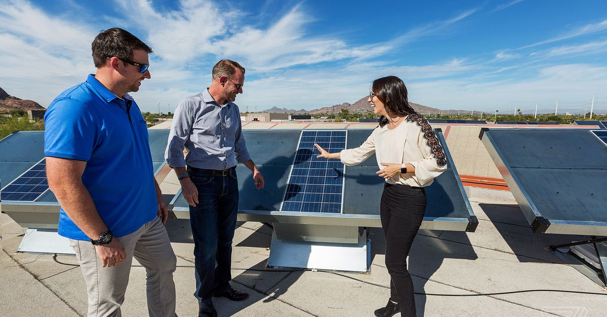 How Zero Mass is using solar panels to pull drinkable water directly
