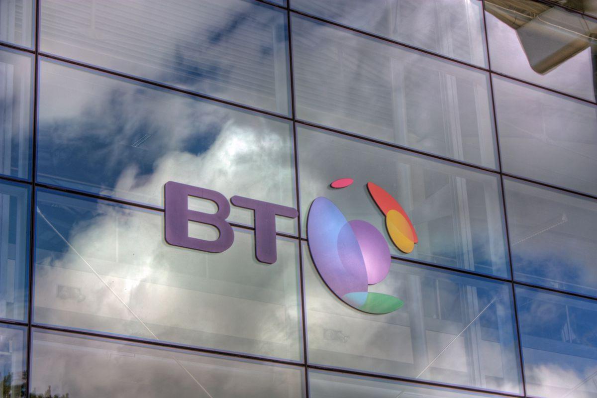 BT Logo Stock