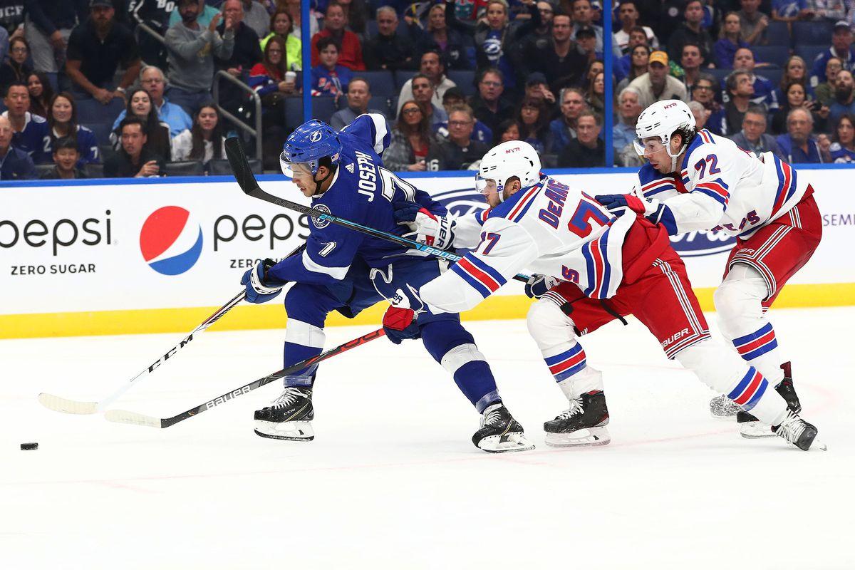 NHL: New York Rangers at Tampa Bay Lightning