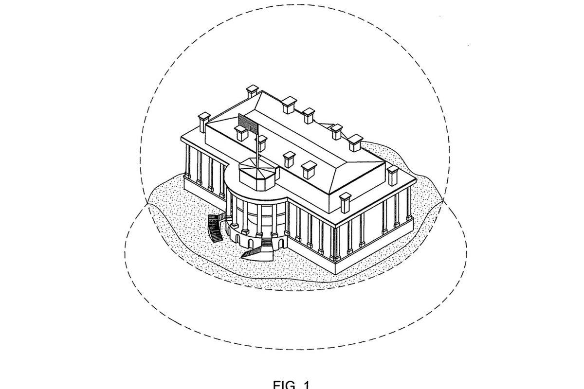 White House snow globe patent