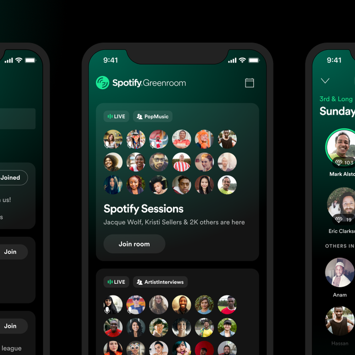 Spotify's Clubhouse competitor Greenroom is here - The Verge