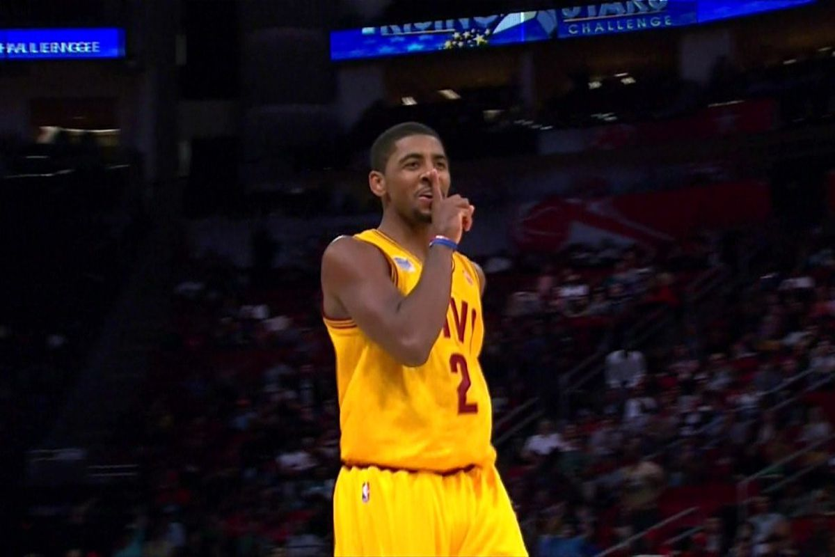 Kyrie Irving breaks Brandon Knight's ankles, drills the ...  Kyrie Irving br...