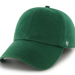"""<b>'47 Brand</b> Kelly Green New '47 Franchise Hat, <a href=""""https://www.47brand.com/shop/other/47-brand/hats/new-47-franchise/47-brand-kelly-green-new-47-franchise-hat/product/37089.aspx"""">$26</a>"""