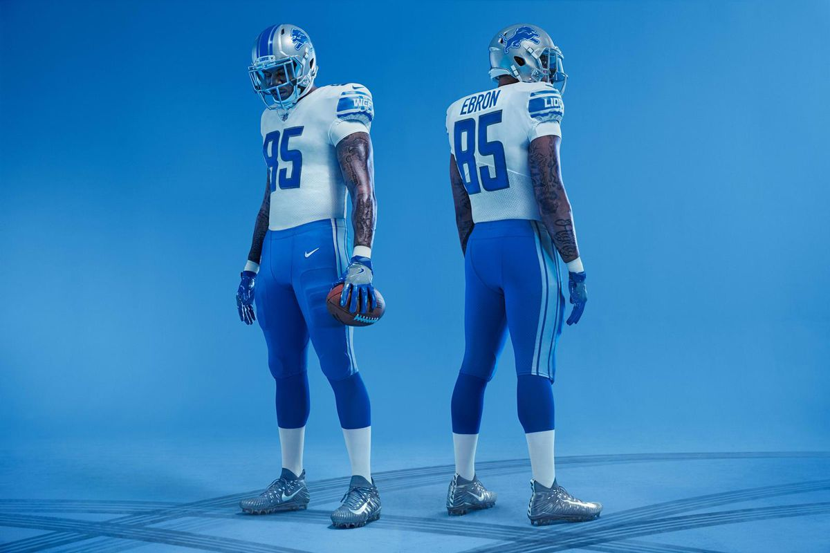 the best attitude 39f52 fcb2b Lions' new uniforms look awfully similar to their old ones ...