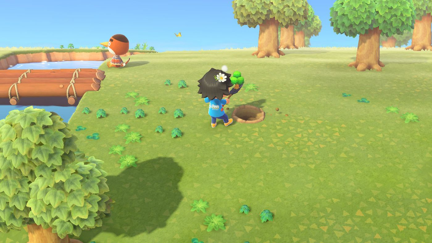 How To Move Trees In Animal Crossing New Horizons Switch Polygon