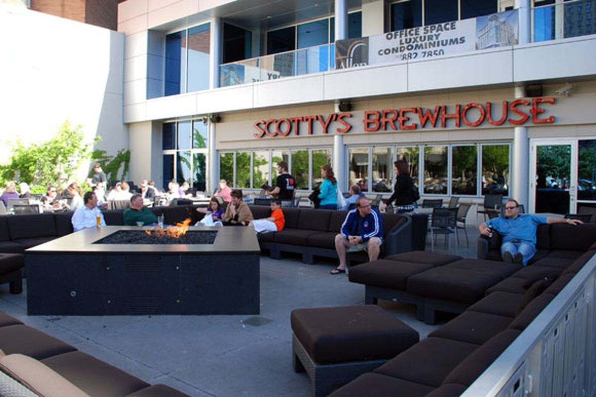 Scotty's Brewhouse is located at 1 Virginia Ave.