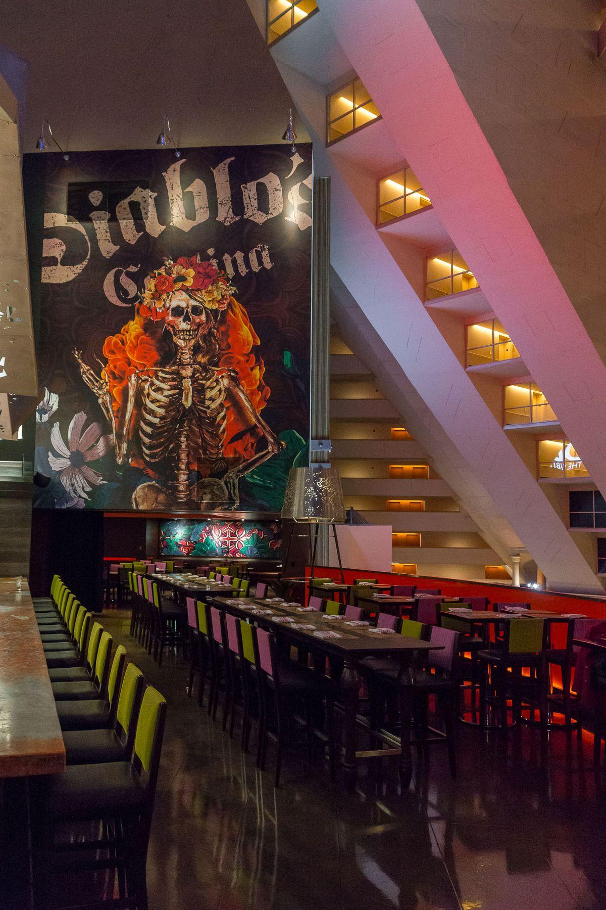 Diablo's Cantina now open Luxor - Eater Vegas