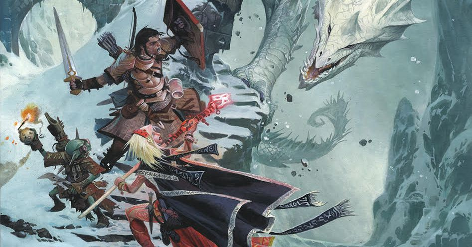 Pathfinder, with roots in a decades-old strain of D&D, is launching