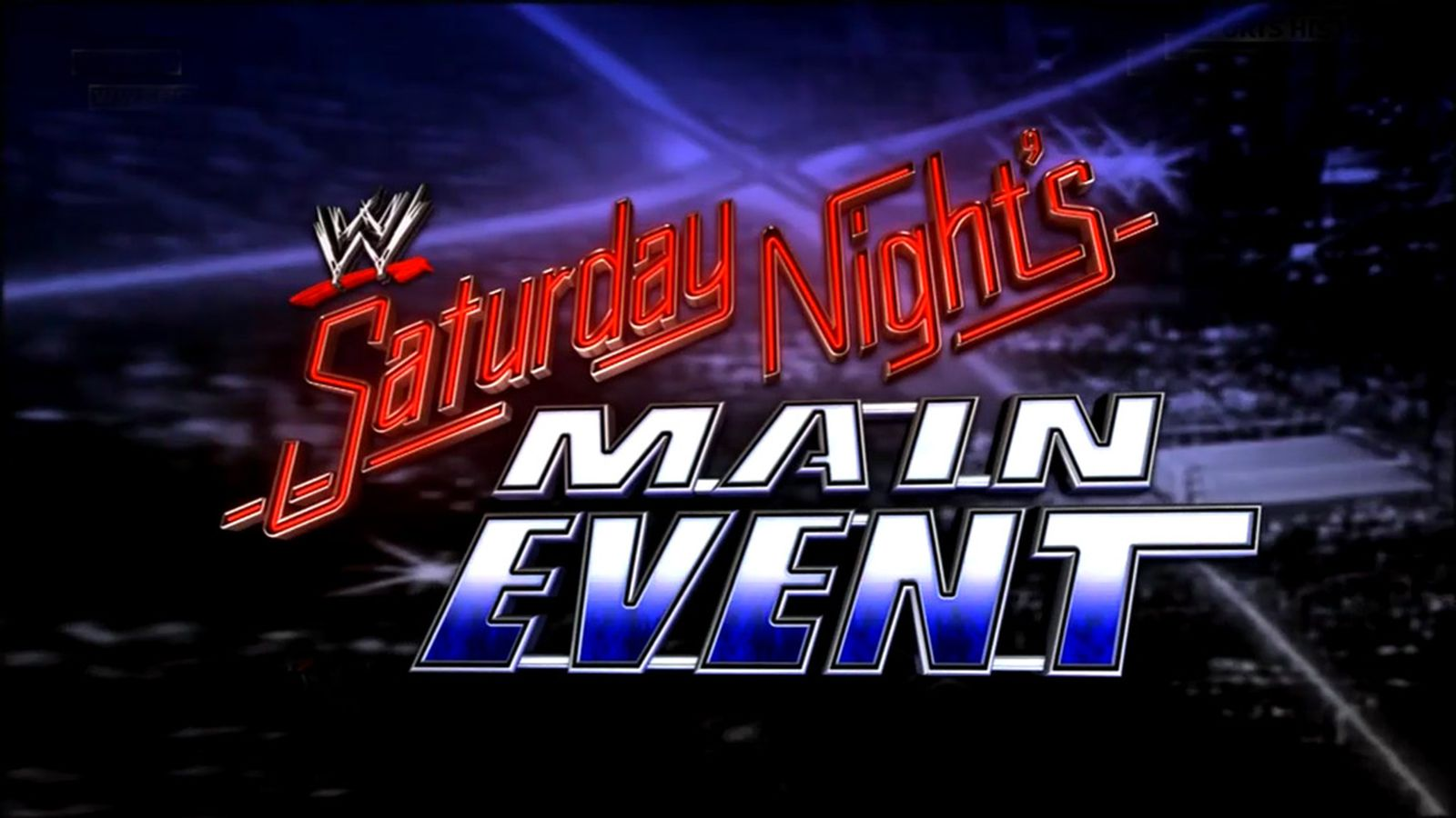 let�s say nice things about saturday night�s main event