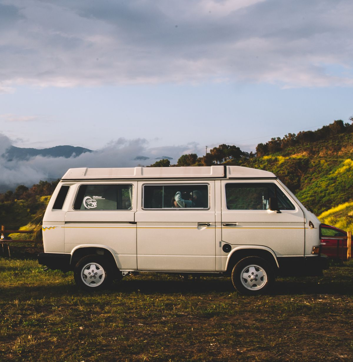 The Original California Camper Van From Volkswagen Debuted In 1988 Photo By Lucy Beaugard