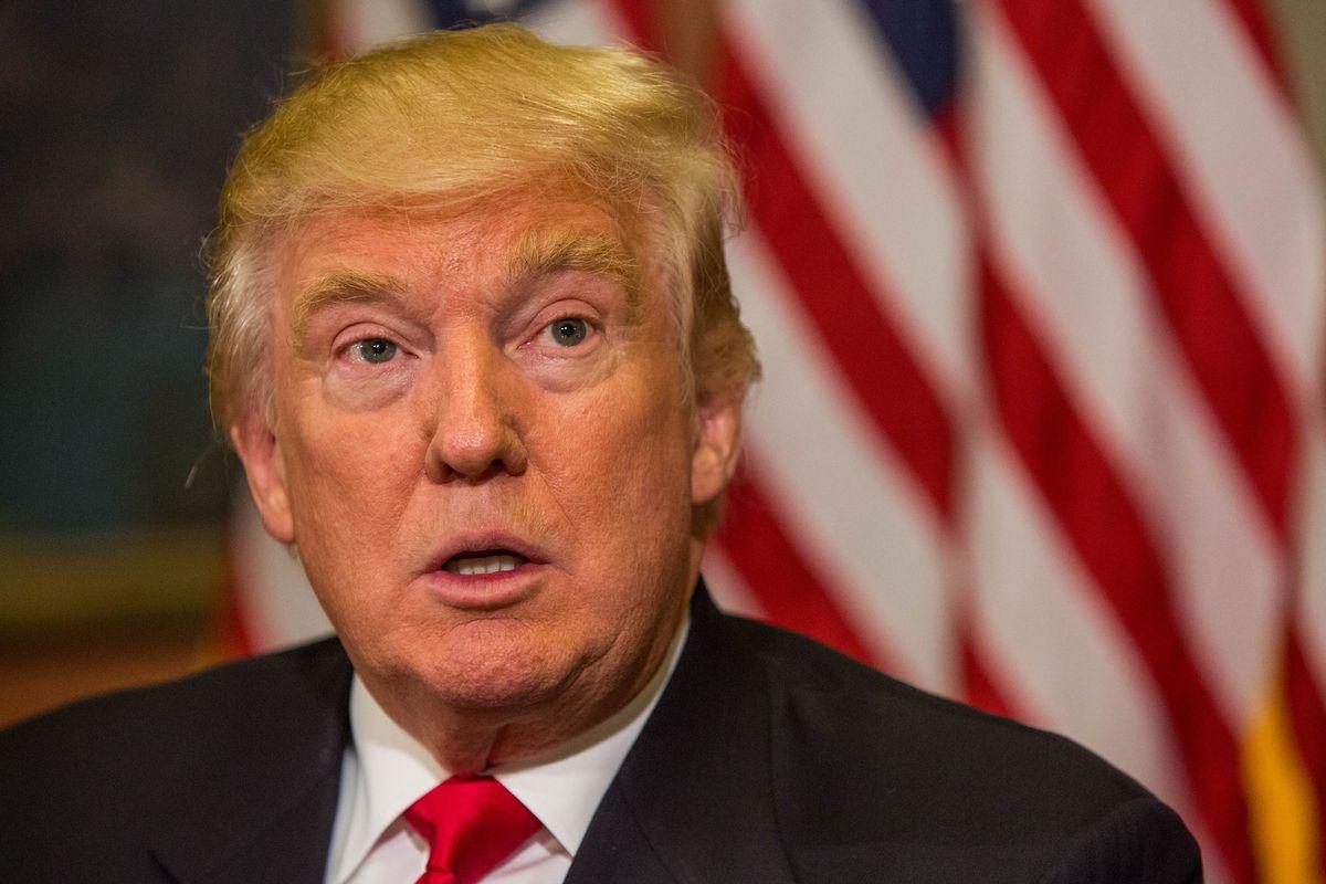 Donald Trump at the US Capitol.