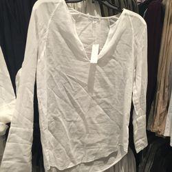Long-sleeved tee-shirt, $40
