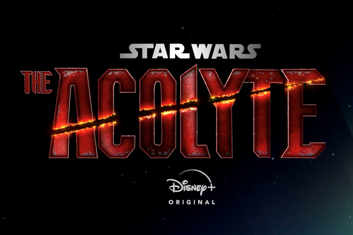 The Acolye title treatment for Star Wars TV series