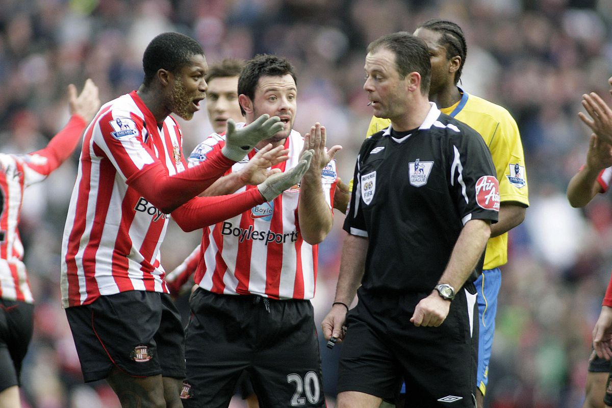 Djibril Cisse (far left ) and (C) Andy R