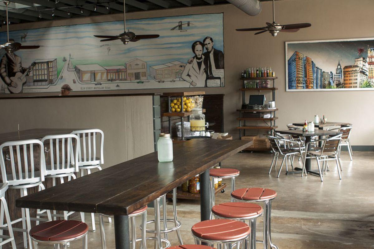 Stonedeck Pizza Pub in Dallas.