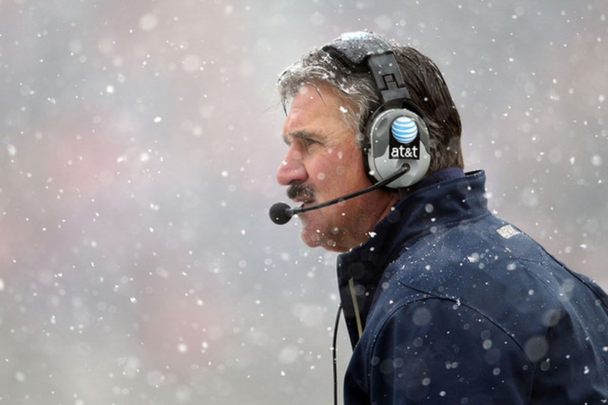 Dave Wannstedt (Photo by Andy Lyons/Getty Images)