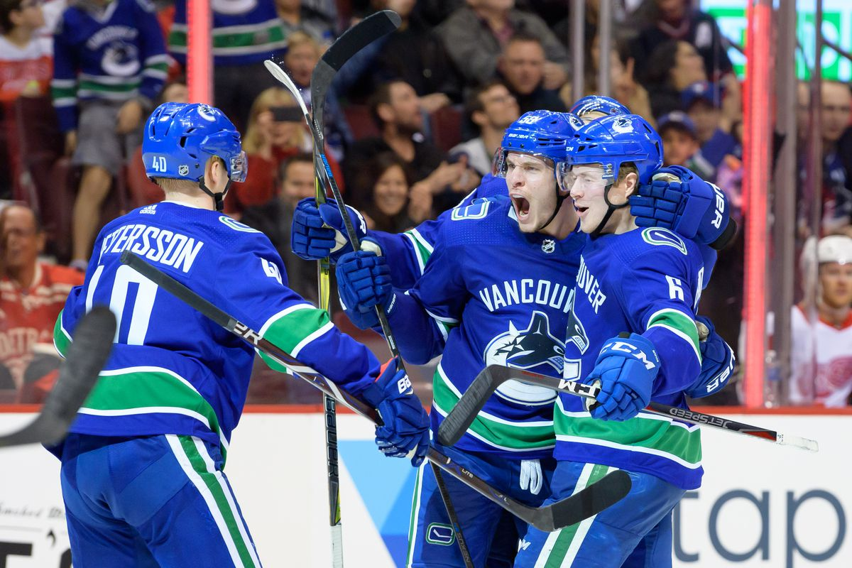 NHL: JAN 20 Red Wings at Canucks