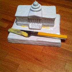 Capitol Butter Dish