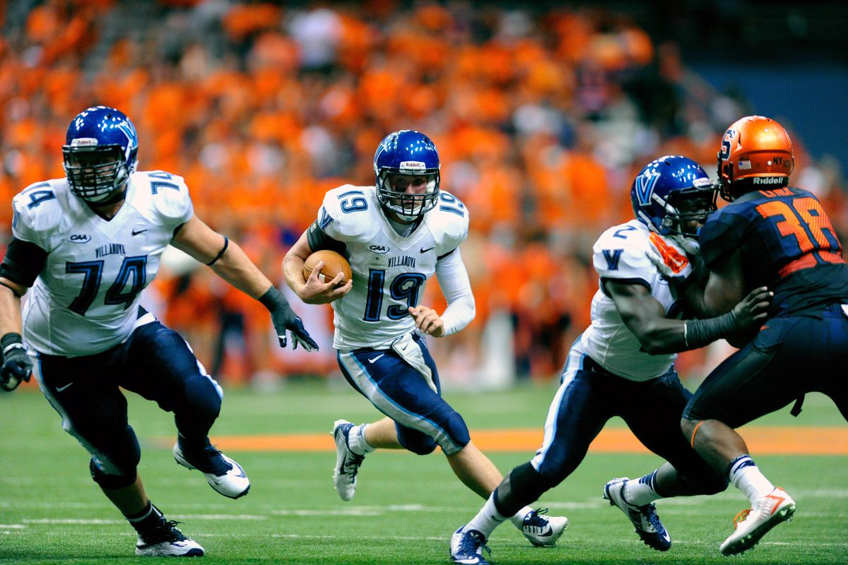 Villanova's star quarterback John Robertson almost led an upset over Syracuse last year. Bob Diaco and the Huskies are not taking this FCS opponent lightly.