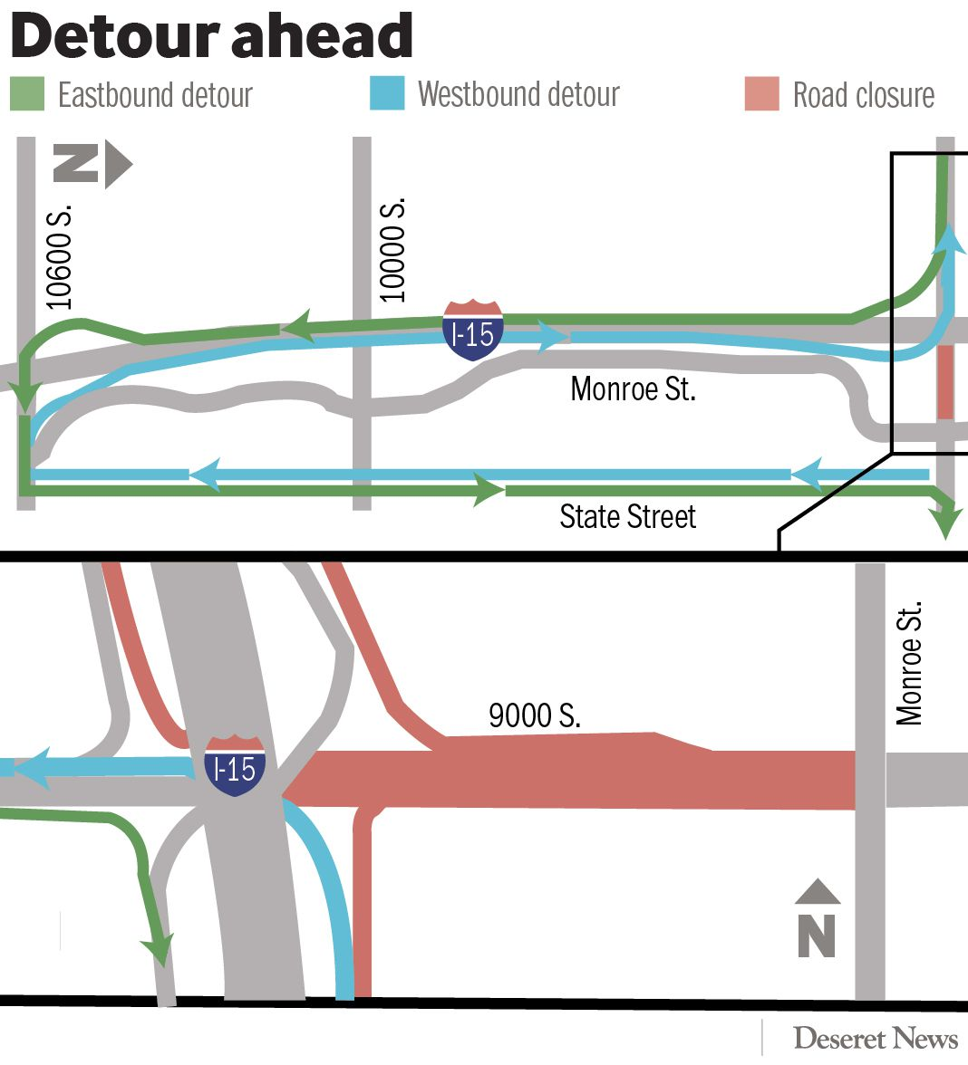 Detour ahead: I-15 briefing