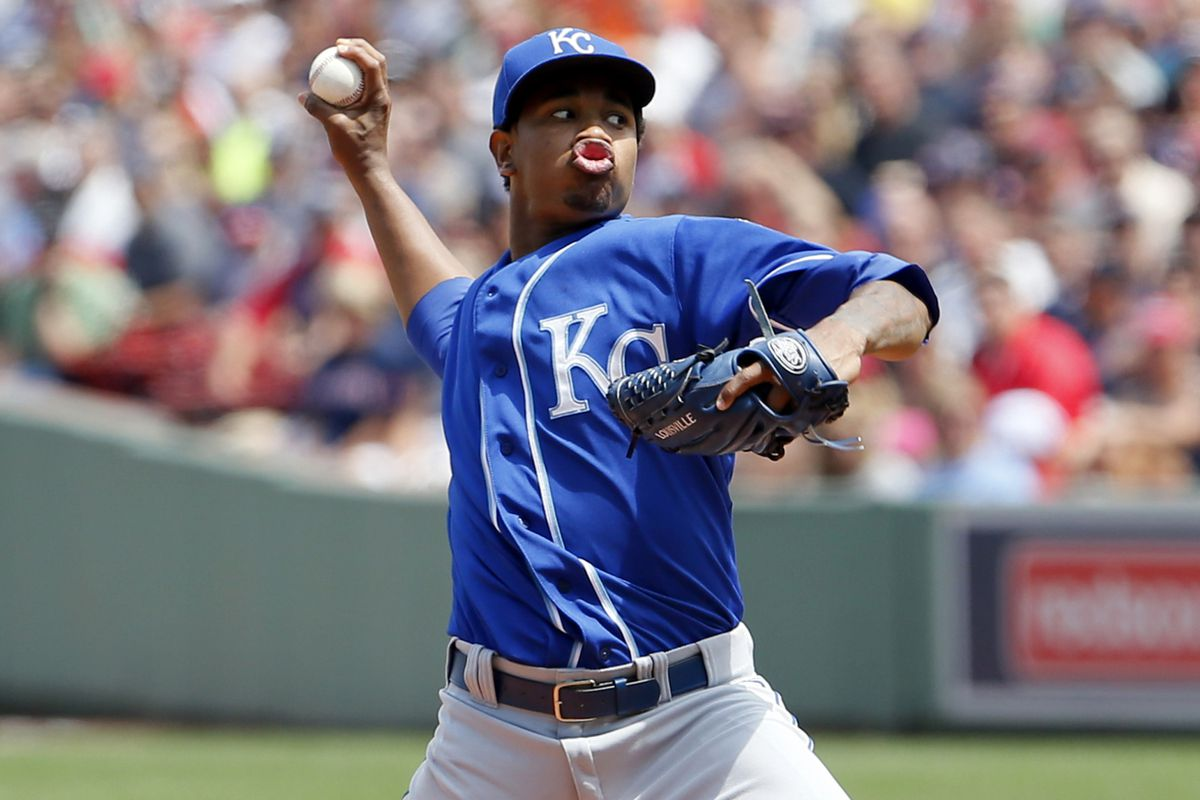 """On the 20-to-80 scale, Yordano Ventura scores an 80 for """"derpy pitching face."""""""