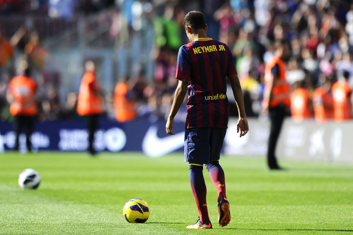 Neymar could even make his debut tomorrow...
