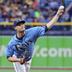 Shane McClanahan, Rays starting pitcher on Saturday