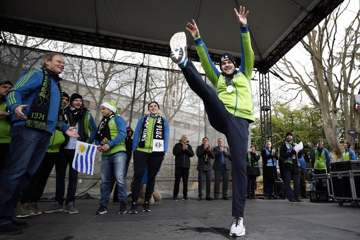 promo code 22806 66973 MLS  MLS Cup Champions-Seattle Sounders FC Parade