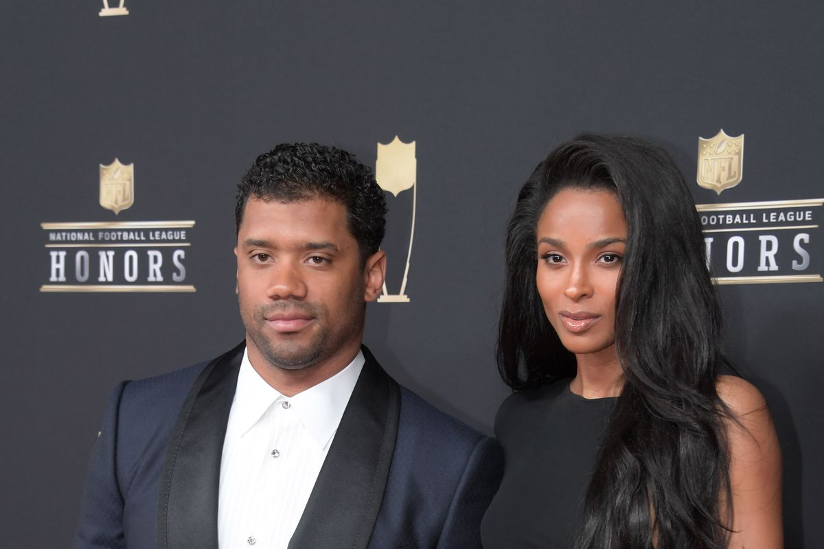 b0d42467881 Seahawks QB Russell Wilson, Ciara join Seattle Sounders FC ownership ...