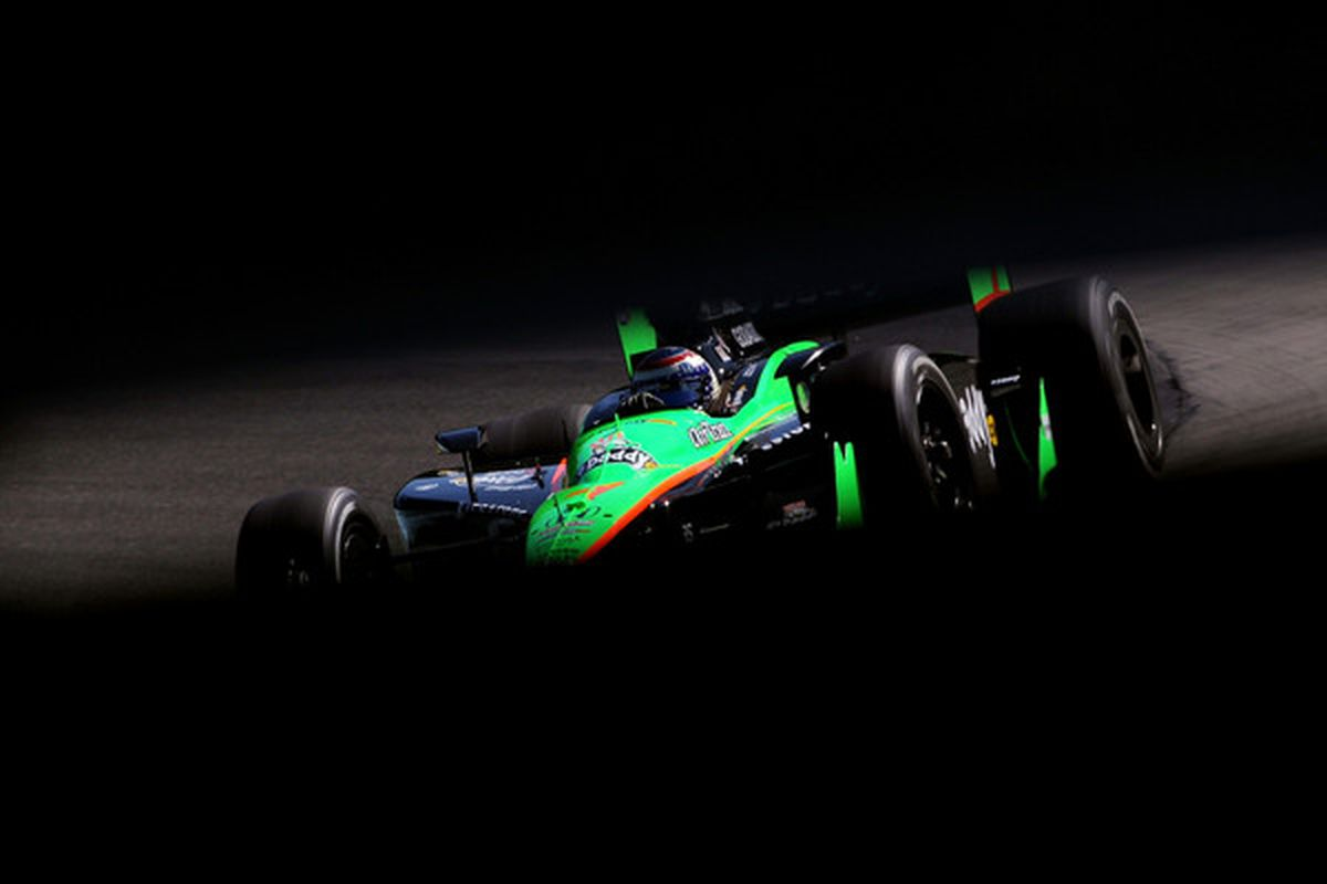 """The Danica Patrick """"tunnel vision"""" displayed by ABC Sports is just one of the many flaws on display during their IndyCar broadcasts. (Photo by Nick Laham/Getty Images)"""