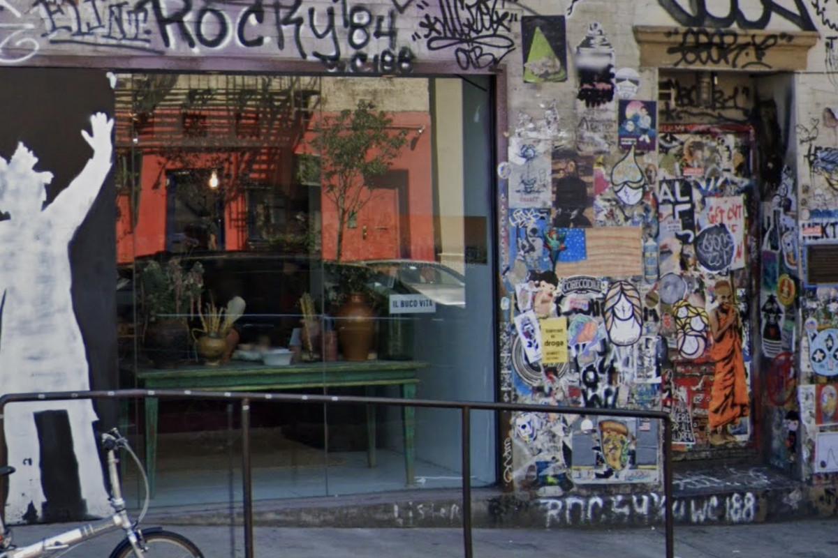 The graffiti clad exterior to Bohemian