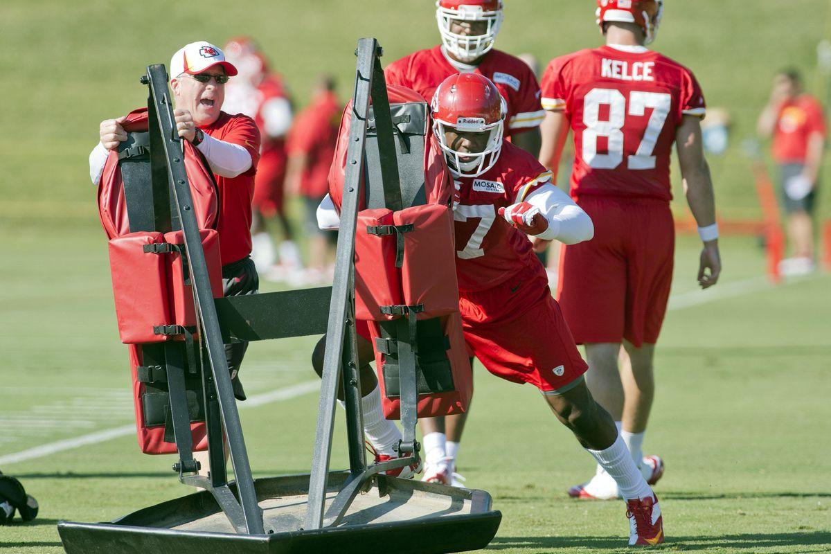 Chiefs practice