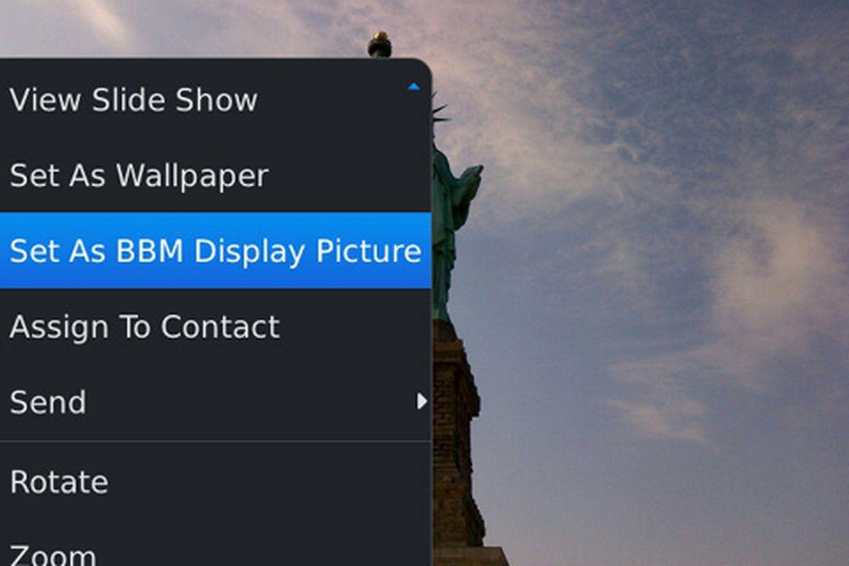 BlackBerry Messenger 6.1