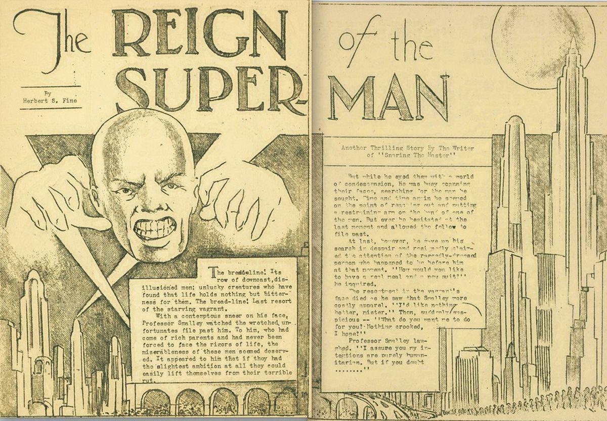 超人变长邪恶的漫长而严峻的漫画历史
