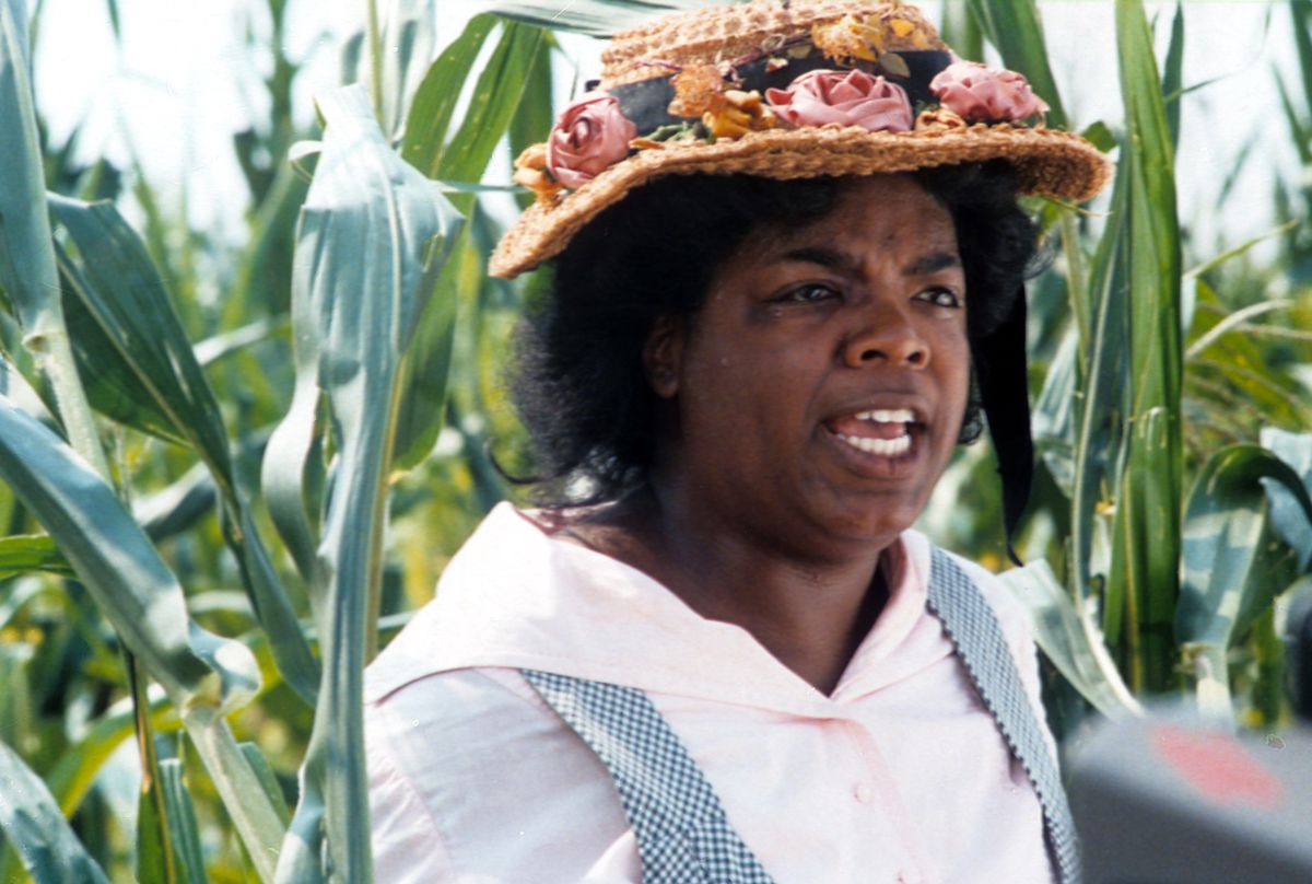 Winfrey in 'The Color Purple' (GettyImages)